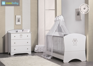Εικόνα της CasaBaby Παιδικό Κρεβάτι Elegant Swarovski