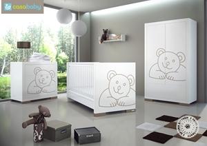 Εικόνα της CasaBaby Παιδικό Κρεβάτι Malmo