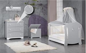 Εικόνα της CasaBaby Παιδικό Κρεβάτι Optima Swarovski