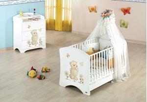 Εικόνα της CasaBaby Παιδικό Κρεβάτι Μυτιλήνη