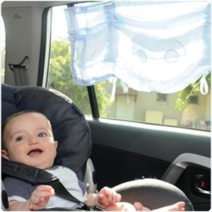 Εικόνα της Minene Υφασμάτινες Ηλιοπροστασίες Αυτοκινήτου με UV προστασία