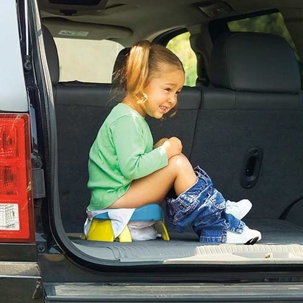 Potette plus 2 σε 1 Γιο-γιο Ταξιδιού και Εκπαιδευτικό Κάθισμα Τουαλέτας Φούξια