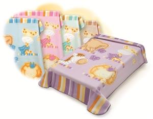 Εικόνα της Κουβέρτα κρεβατιού βελούδινη Belpla Zoo