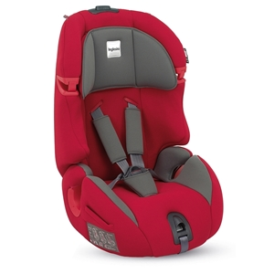 Inglesina Κάθισμα Αυτοκινήτου Prime Miglia 1/2/3 Red