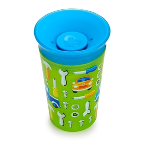 Munchkin Κύπελο Miracle 360° Deco Sippy Cup Green Car 266ml.