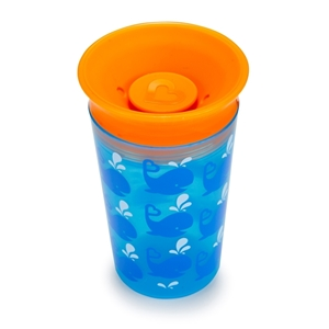 Munchkin Κύπελο Miracle 360° Deco Sippy Cup Blue Whale 266ml.