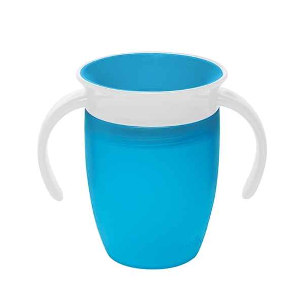 Munchkin Κύπελο Miracle 360° Trainer Cup Blue/White 207ml.