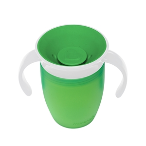 Munchkin Κύπελο Miracle 360° Trainer Cup Green/White 207ml.
