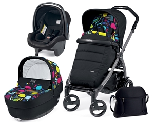 Peg Perego Παιδικό καρότσι Book Plus 51 Set Elite Modular Manri & δώρο Kit Culla