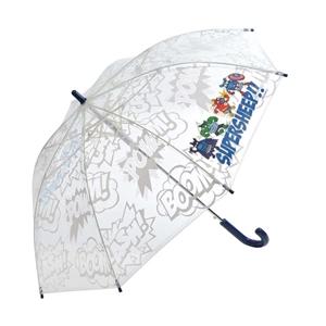 Kukuxumusu Ομπρέλα Μπαστούνι Παιδική SuperHeroes