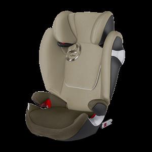 Cybex Παιδικό Κάθισμα Solution M-Fix, 15-36 kg. Olive Khaki