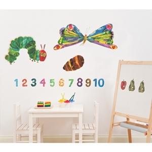 Eric Carle Αυτοκόλλητο Τοίχου The Very Hungry Caterpillar