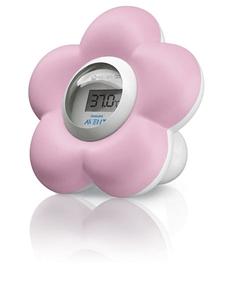 AVENT Ψηφιακό Θερμόμετρο Μπάνιου και Δωματίου Ροζ