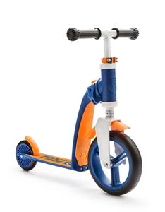 Scoot And Ride Ποδήλατο Ισορροπίας & Πατίνι 2 Σε 1 HighwayBaby Blue/Orange