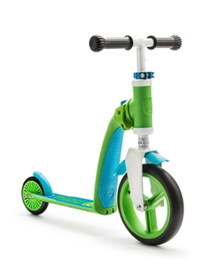 Scoot And Ride Ποδήλατο Ισορροπίας & Πατίνι 2 Σε 1 HighwayBaby Green/Blue