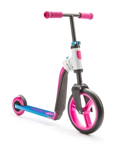 Scoot And Ride Ποδήλατο Ισορροπίας & Πατίνι 2 Σε 1 HighwayBuddy Pink/Blue