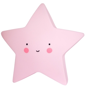 Picture of Φωτάκι Νυκτός Mini Star Light Pink