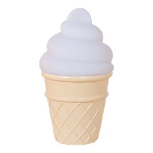 Picture of Φωτάκι Νυκτός Mini Ice Cream Light White
