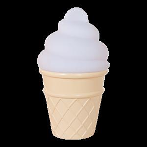 Εικόνα της Φωτάκι Νυκτός Mini Ice Cream Light White