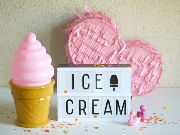 Picture of Φωτάκι Νυκτός Mini Ice Cream Light White