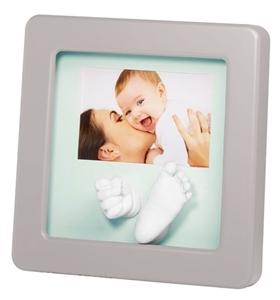 Εικόνα της Baby Art Γλυπτό Αποτύπωμα σε Κορνίζα, Photo Sculpture Frame Pastel