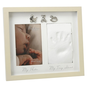 Εικόνα της Bambino Photo and Hand Print Frame