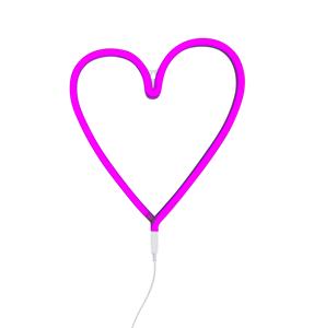 Εικόνα της Νέον Φωτεινή Κρεμαστή Καρδιά Ροζ