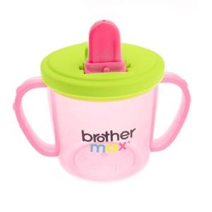 Εικόνα της Brother Max Εκπαιδευτικό Ποτηράκι Flip & Go Cup Pink