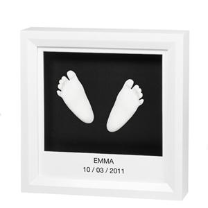 Εικόνα της Baby Art Γλυπτό Αποτύπωμα σε Κορνίζα, My Little Steps Sculpture Frame