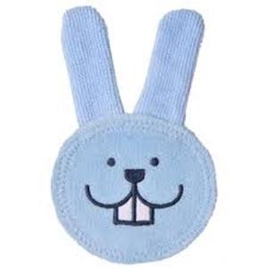 Εικόνα της MAM Λαγουδάκι Καθαρισμού Στοματικής Κοιλότητας Oral Care Rabbit, 0+ Μηνών, Μπλε