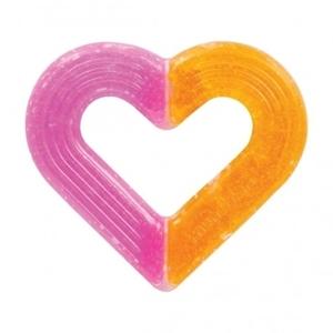 Εικόνα της Munchkin Μασητικό Καρδιά με Τζελ Ice Glace Ροζ