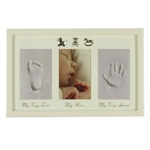 Εικόνα της Bambino Baby Photo, Hand & Foot Cast Frame