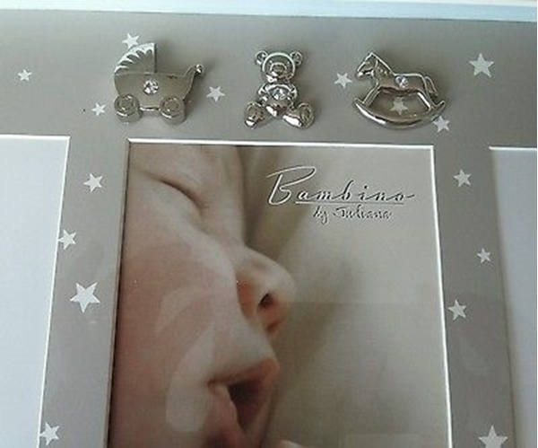 Picture of Bambino Baby Photo, Hand & Foot Cast Frame