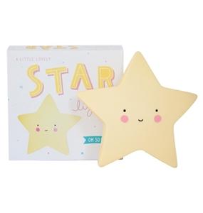 Εικόνα της Φωτάκι Νυκτός Mini Star Light Yellow