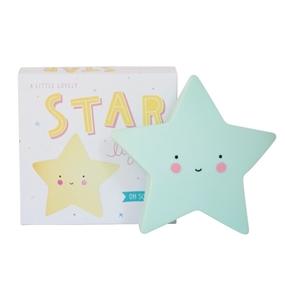 Εικόνα της Φωτάκι Νυκτός Mini Star Light Mint
