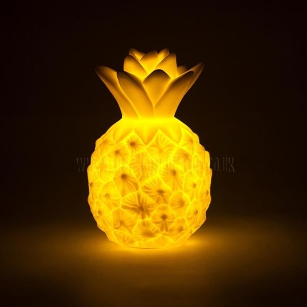Picture of Φωτάκι Νυκτός Mini pineapple light: Yellow