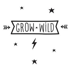 Εικόνα της Αυτοκόλλητα τοίχου Grow Wild