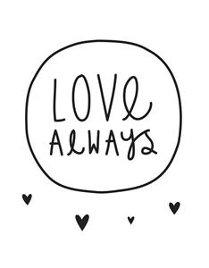 Εικόνα της Αυτοκόλλητα τοίχου Love Always