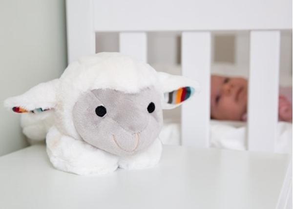 Picture of Zazu Προβατάκι Λούτρινο Liz με συσκευή Λευκών Ήχων