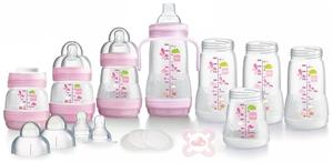 Εικόνα της MAM Bottle Starter Set Pink 15 τεμαχίων