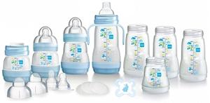 Εικόνα της MAM Bottle Starter Set Blue 15 τεμαχίων