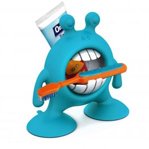 Εικόνα της Βάση οδοντόβουρτσας / οδοντόκρεμας Eyesmile μπλέ