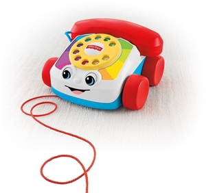 Picture of Fisher Price Συρόμενο Τηλέφωνο #FGW66