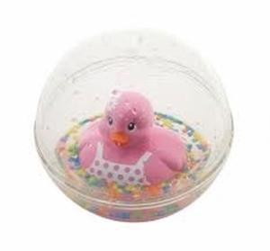 Εικόνα της Fisher Price Μπαλίτσα Με Παπάκι Ροζ #DVH21
