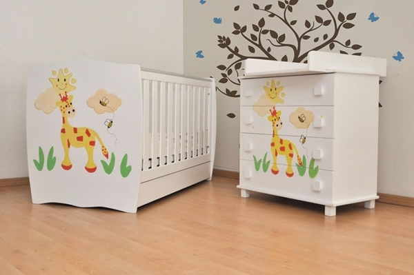 Picture of Babyhood Βρεφικό Δωμάτιο Jolie