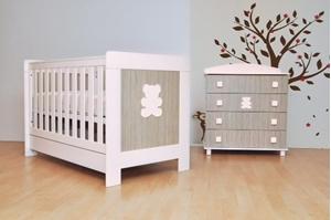 Εικόνα της Babyhood Βρεφικό Δωμάτιο Rio Grey