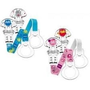 Εικόνα της MAM Clip Double Pack Κορδέλες Στήριξης Πιπίλας 2 τεμ.
