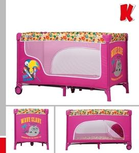 Εικόνα της Kiddo Παρκοκρέβατο Fun Pink Parrot