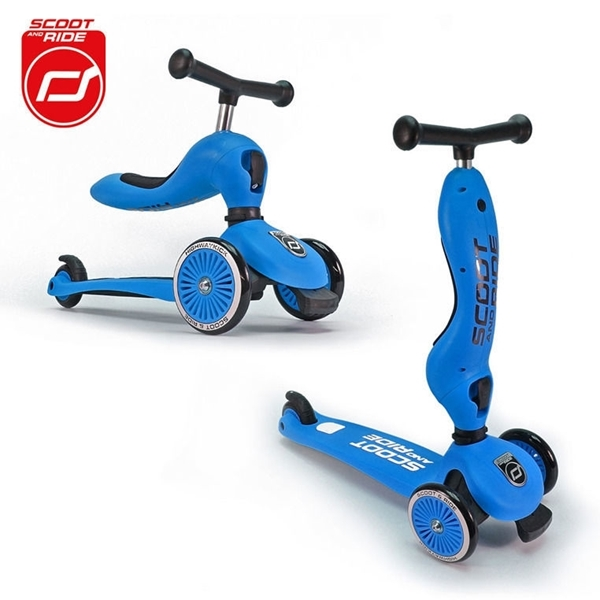 Picture of Scoot and Ride Ποδήλατο Ισορροπίας & Πατίνι 2 σε 1 HighWayKick 1, Blue