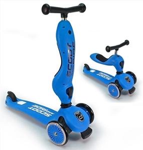 Εικόνα της Scoot and Ride Ποδήλατο Ισορροπίας & Πατίνι 2 σε 1 HighWayKick 1, Blue